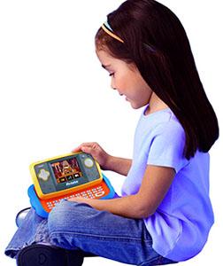 Hasbro VTech Mobigo Console Blu Cars 2_bambina