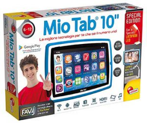 Lisciani Mio Tab 10 Evolution Youtuber Special Edition scatola