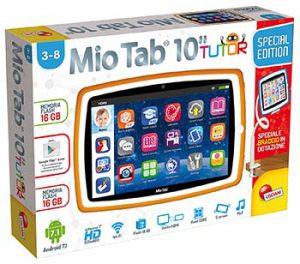 Lisciani Mio Tab Smart Kid Tutor Tablet 10 scatola