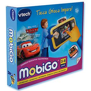 Hasbro VTech Mobigo Console Blu Cars 2_scatola