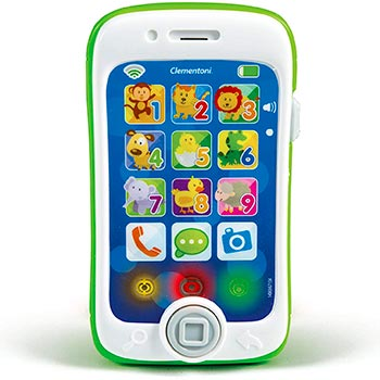 Clementoni- Smartphone Touch Play