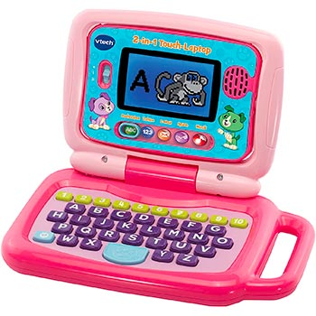 Vtech-2-in-1 Touch-Laptop Pink